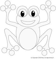 grenouilles a colorier - Recherche Google