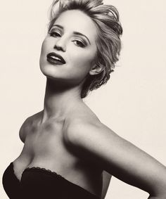 Dianna Agron. My other girl crush.