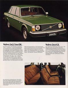 Volvo 242 German print ad