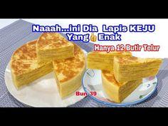 Naaaaah...Ini Dia...Lapis KEJU Hanya 12 Butir Telur Enak Banget - YouTube Lapis Legit, The Creator, French Toast, Layers, Breakfast, Cake, Youtube, Food, Sweet Cakes