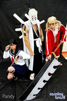 Bleach Funny Cosplay, Epic Cosplay, Awesome Cosplay, Anime Cosplay, Cool Costumes, Cosplay Costumes, Bleach Cosplay, Cosplay Armor, Cos Play