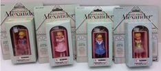 Madame Alexander Dolls Set of 4 Key Chains Basic Fun