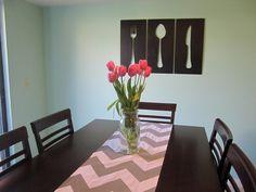Dining room wall art   - DIY Wall Art – 16 Innovative Wall Decorations