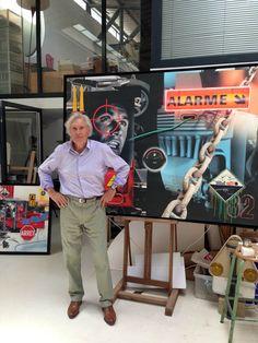 Atelier de Peter Klasen