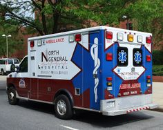 North General Hospital EMS Ambulance, Harlem, New York City Ems Ambulance, Emergency Ambulance, Emergency Vehicles, Columbus Fire Department, Paramedic Quotes, Emergency Medical Services, Rescue Vehicles, Manhattan Nyc, Police Patches