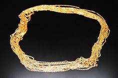10meters235BDC  raw brass chain by 3yes on Etsy
