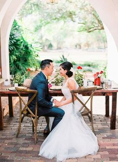 Romantic Red & Gold Mexican Wedding Inspiration - Inspired by This Garden Party Wedding, Red Wedding, Wedding Reception, Wedding Rings, Orlando Wedding Photographer, Long Wedding Dresses, Wedding Bouquets, Wedding Inspiration, Wedding Ideas