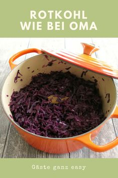 Selbstgemachter Rotkohl wie von Oma A little sniping is necessary for this homemade red cabbage - but otherwise it's really easy. Great side dish for all types of meat dishes. Healthy Eating Tips, Healthy Meal Prep, Healthy Nutrition, Beef Recipes, Vegetarian Recipes, Snack Recipes, Drink Recipes, Chocolate Bonbon, Frozen Banana Bites