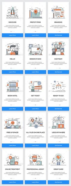 15 Onboarding Screens for App. Vector Illustration EPS, AI Illustrator
