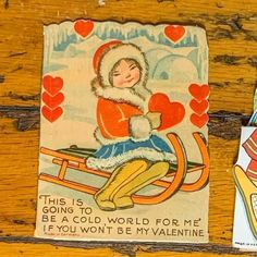 Vintage Valentine's can be given to a loved one for Valentine's Day, displayed in a metal flower frog, or clipped to something to add love to your home decor. Bundles of similar styles or topics have been created. See the pictures for more details. 4 1/4 × 3 1/2 in. Vintage Valentines, Be My Valentine, Flower Frog, Antiques For Sale, Antique Decor, Metal Flowers, Winter Activities, Valentine Decorations, Vintage Items