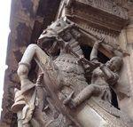 Sculptured Pillars Madurai Pudumandapam