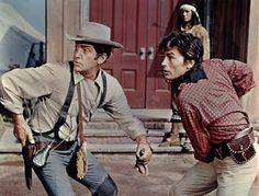 Texas Across The River, western comedy with Dean Martin and Alain Delon and Joey Bishop.