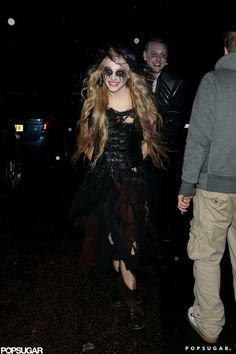 Pin for Later: Over 250 Celebrity Halloween Costumes!  Chloë Grace Moretz was in character for a London bash in 2012.