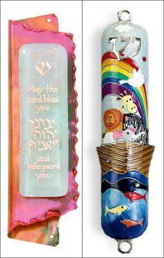 Children's Mezuzah - Jewish Baby Gifts | View More Gift Ideas - www.mazelmoments.com/blog/16601/bris-jewish-baby-naming-gifts-gift-ideas