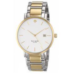 New York Women's 1YRU0108 'Gramercy Grand' Two Tone Watch