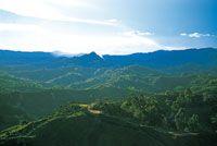 Altiplano colinado de las montañas Antioqueñas, en la región de Anorí.