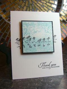 "Stampin' Up! ""Wetlands"" stamp set ... by Carol Molter"