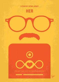 minimal minimalism minimalist movie poster chungkong film artwork design her