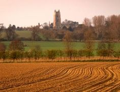 Beautiful landscapes abound, like this one near Nayland Church, in Dedham Vale. Photo: Dedham Vale AONB