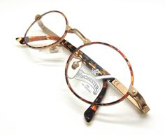fbaa740d65d6 Italian COPPER Oval Glasses with Turtle Colour Rims By Winchester Magic Line