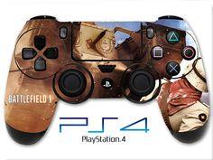 Battlefield 1 Skin PS4 Controller Skin Wrap Tank Skin Sticker Playstation 4 Skin