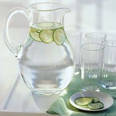 Add a little flare to your water pitcher this summer!