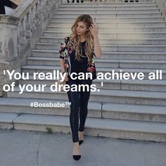 SO EXCITING!  BossBabe interviewed @luisalion  Luisa is a Blogger & Serial Entrepreneur who is sharing her journey, blogger tips and tricks and lessons learned along the way! Find the content inside the #BossBabe Academy NOW! ✨