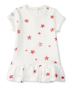 Star Terry Dress & Bloomer - Baby Girl Dresses & Rompers - RalphLauren.com