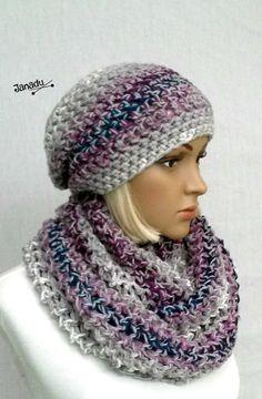 Crochet Scarves, Knit Crochet, Crochet Hats, Chunky Scarves, Scarf Hat, Winter Trends, Beautiful Crochet, Headgear, Color Trends