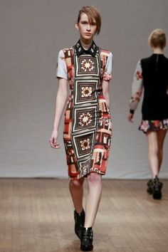 Clements Ribeiro Fall Winter Ready To Wear 2013 London
