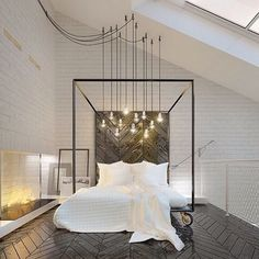 """Dream Bedroom ""   Céleste ~ Celestial White Bedroom ~"