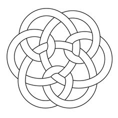 Celtic knotwork by Peter Mulkers AutoCAD