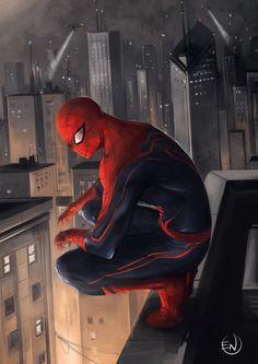 Spider-Man Redesign - Enio Caglia