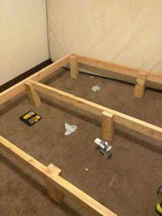 Diy Modern Platform Bed Frame For Less Than 50 In Lumber Free