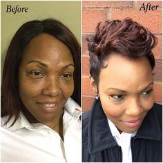 Hair transformation by The Hair Coach