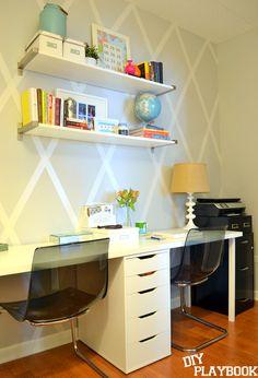 Casey's Office Progress - DIY Playbook
