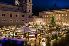 Enjoy some of the best European Christmas markets! Salzburg Christmas markets will enchant you with tasty food, lights everywhere and beautiful scenery.