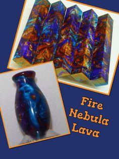 Fire Nebula Lava by AngelsHeavenlyDesign on Etsy, $25.00