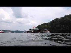 Someone Is Getting Towed on Pickwick Lake.  A boat was getting towed.  That must have ruined their day!  Please share and enjoy Captain IrixGuy's other boating videos too!  Filmed with Nikon AW110 camera.