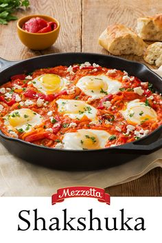 The hardest thing about making this dish is pronouncing the name. Shakshuka is eggs baked in tomato sauce and with a little crusty bread for dipping, this dish will become one of your fall favorites.