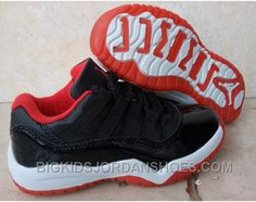 """Discover the Kids Air Jordan 11 Low """"Bred"""" Basketball Shoes Cheap To Buy collection at Pumafenty. Shop Kids Air Jordan 11 Low """"Bred"""" Basketball Shoes Cheap To Buy black, grey, blue and more. Get the tones, get the features, get the look! Air Jordans, Cheap Jordans, New Jordans Shoes, Jordan Shoes For Kids, Michael Jordan Shoes, Air Jordan Shoes, Zapatos Air Jordan, Nike Shoes Online, Sandals Online"""