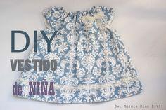 VESTIDO NIÑA CON CUELLO FRUNCIDO. Prof. Oh, Mother Mine DIY!!   ......              DIY Costura: vestido de niña (patrones gratis)
