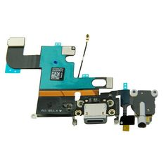 Flex Cable (Charge Port, Mic, Headphone Jack, Antenna) for Apple iPhone 6 (CDMA & GSM) (Gray)