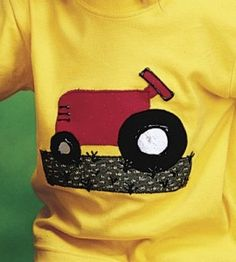 Tractor T-Shirt Sewing Project