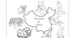 Una selección de animales chinos: