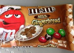 Lauri, I didn't know M&M's made so many different kinds until you showed me the candy corn M&M's! M&M's Gingerbread by theimpulsivebuy, via Flickr