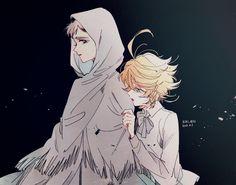 the promised neverland emma x norman Anime Manga, Anime Art, Otaku Anime, Desenhos Love, Precious Children, Disney And More, Tsundere, Cute Anime Couples, Manga Games