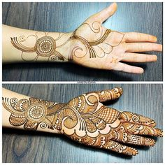 Looking for trending rakshabandhan mehndi designs? You& reached the right place! We& curated rakshabandan mehndi design images that& inspire you. Henna Hand Designs, Mehndi Designs Finger, Latest Arabic Mehndi Designs, Beginner Henna Designs, Mehndi Designs 2018, Stylish Mehndi Designs, Wedding Mehndi Designs, Mehndi Designs For Hands, Tattoo Designs