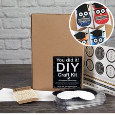 SRM Press Inc. - DIY Craft Kit - Graduation Pillow Boxes at Scrapbook.com