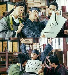 beakhyun, jisoo, and k-drama image